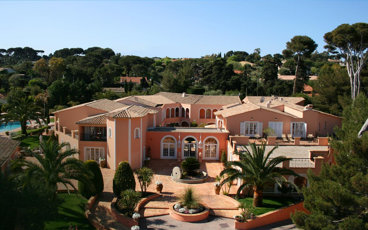 Impérial Garoupe hotel on the French Riviera